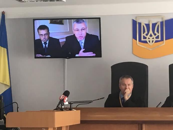 Шуляк дает показания по делу Януковича / фото TWITTER ОКСАНЫ КОВАЛЕНКО