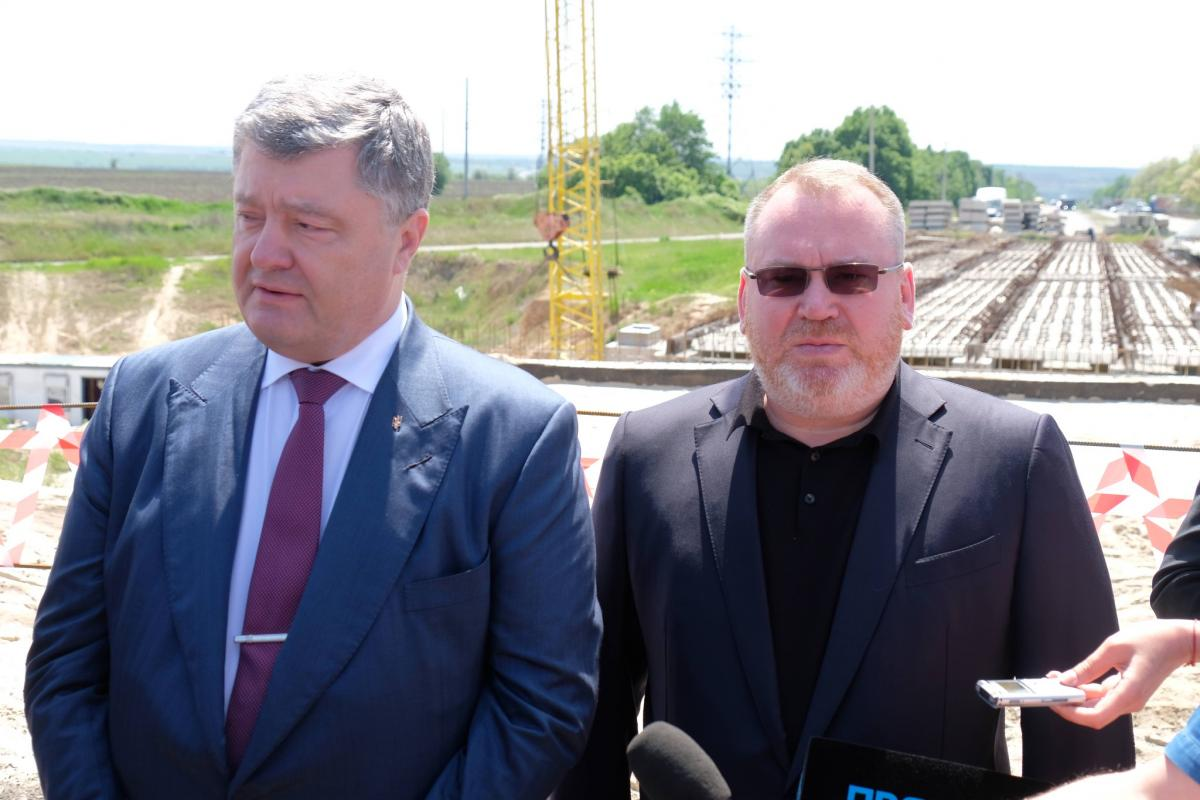 Петро Порошенко і Валентин Резніченко / УНІАН