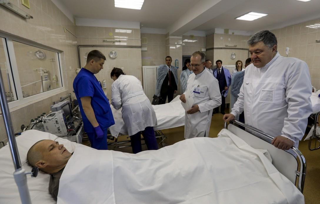 Порошенко нагадав про впровадження реформи медичної галузі \ president.gov.ua