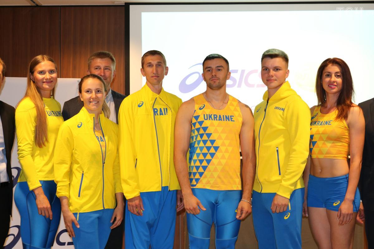 Збірна України з легкої атлетики презентувала нову форму / прес-служба ФЛАУ