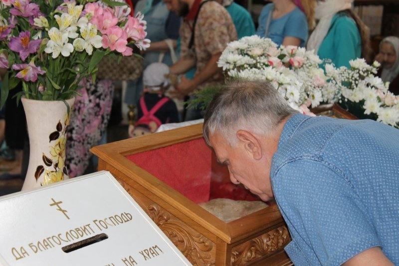 Святыня находится в Покровском архиерейском соборе постоянно / hramzp.ua