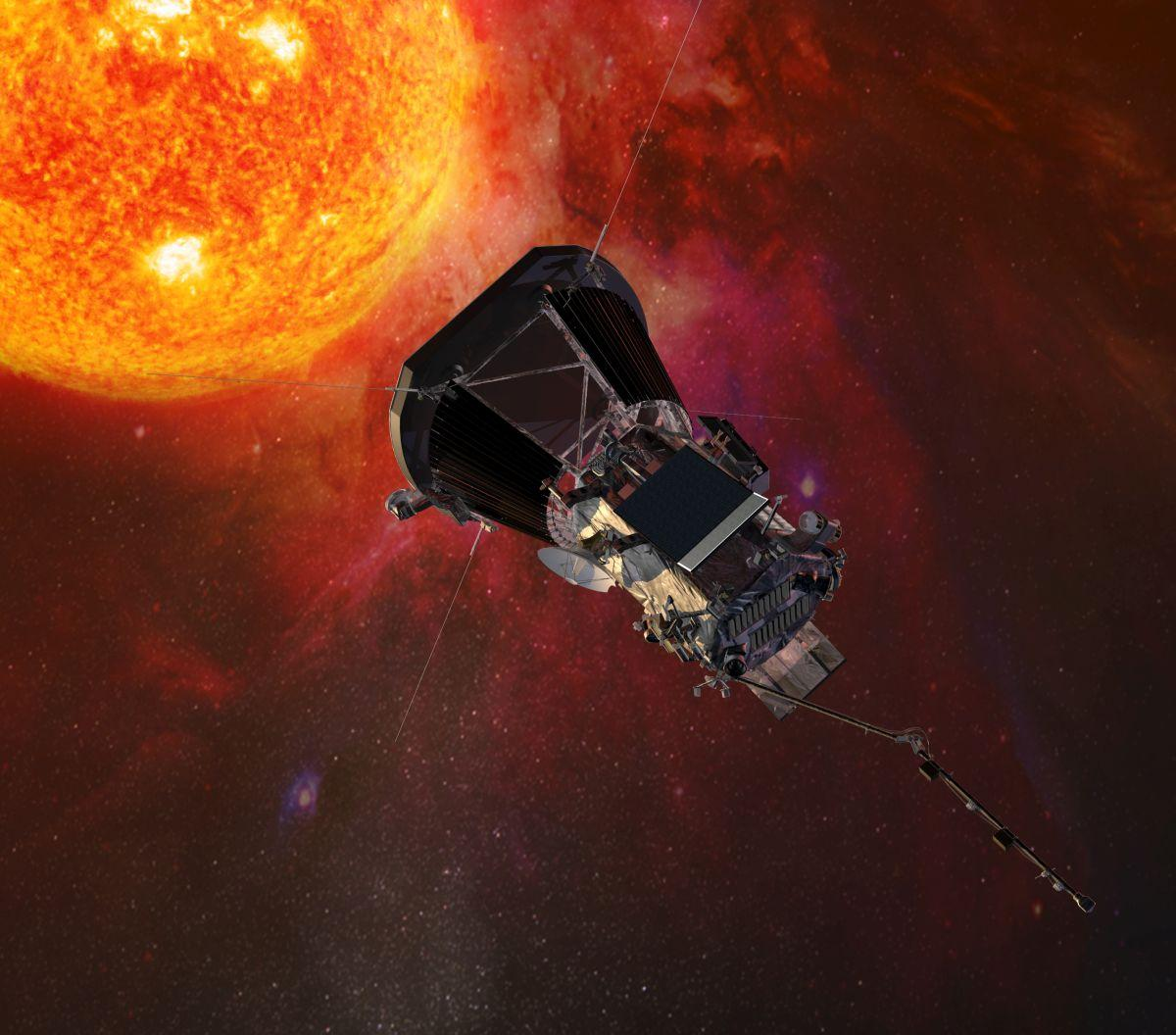 Космічний зонд для вивчення Сонця Parker Solar Probe / фото Johns Hopkins University Applied Physics Laboratory
