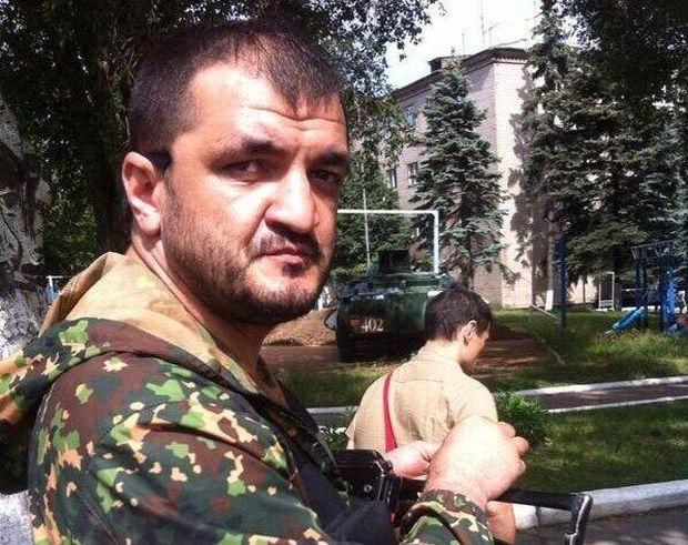 """Мамієв командував одним з підрозділів бойовиків """"ДНР"""" / фото facebook.com/zaharprilepin"""