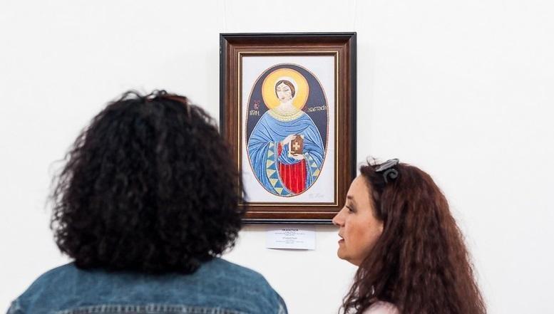 В Дубно открылась выставка вышитых икон / volyn24.com
