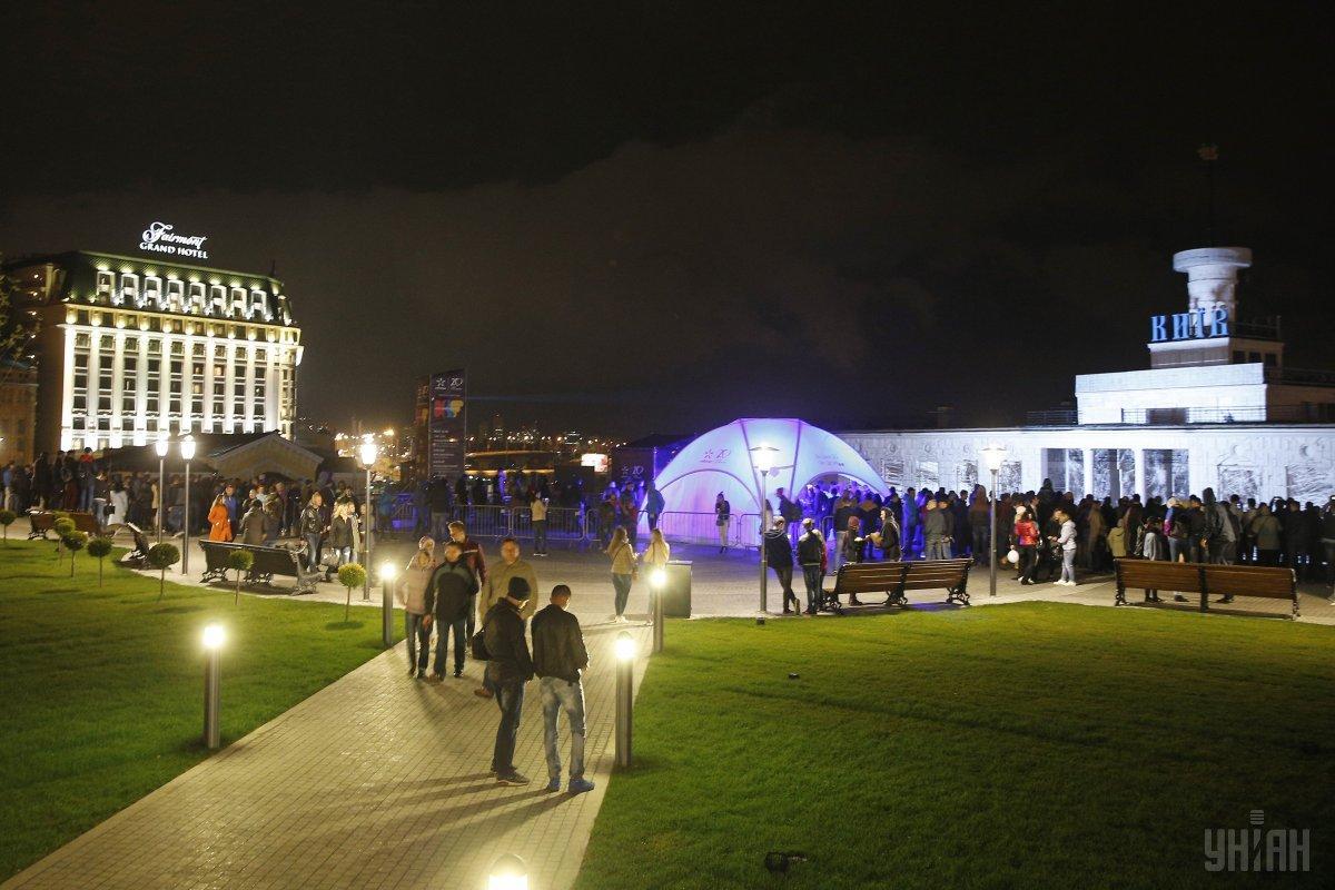 Почтовая площадь в Киеве станет центром Kyiv Lights Festival 2018 / Фото УНИАН
