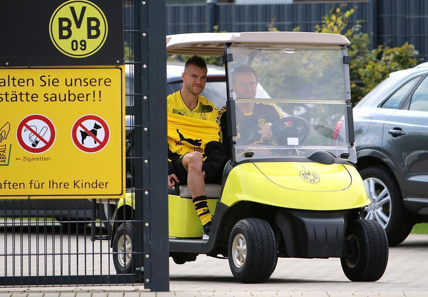 "Яромленко протягом тривалого часу не грав за ""Боруссію"" з-за травми / ruhrnachrichten.de"