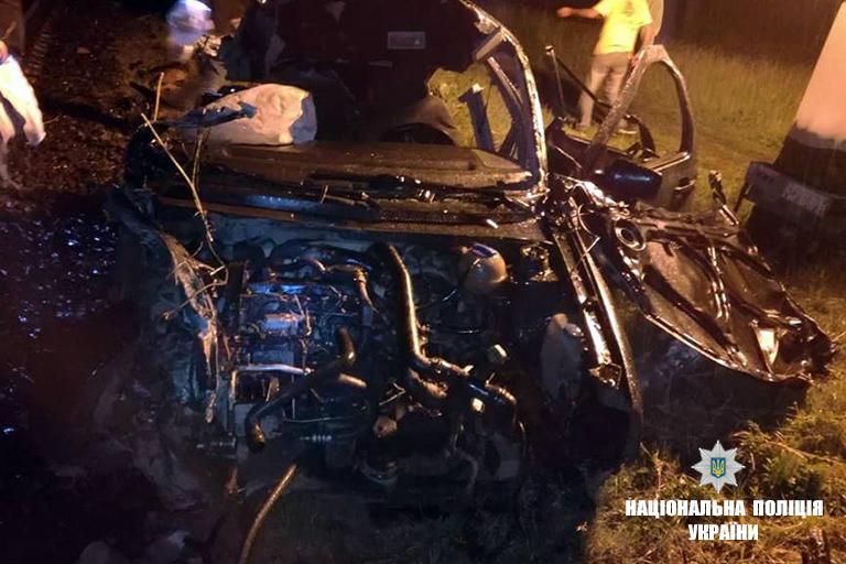 На Прикарпатті автомобіль зіткнувся з поїздом, загинула людина / фото if.npu.gov.ua