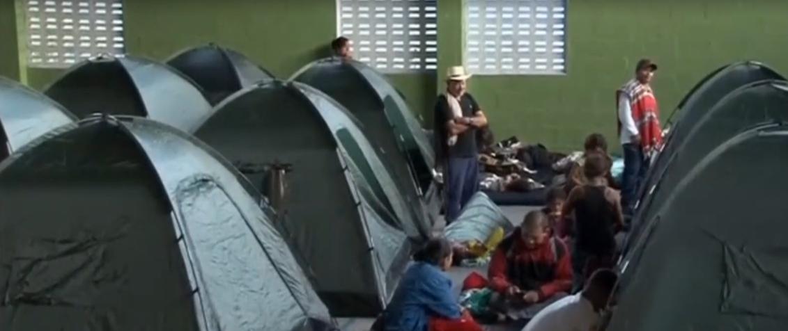 У Колумбії евакуюють людей / скріншот