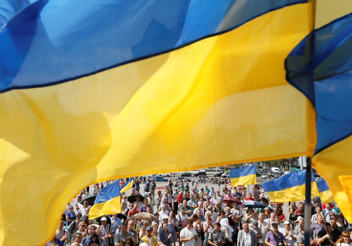 Абсолютна більшість українців готові підтримати незалежність України / REUTERS