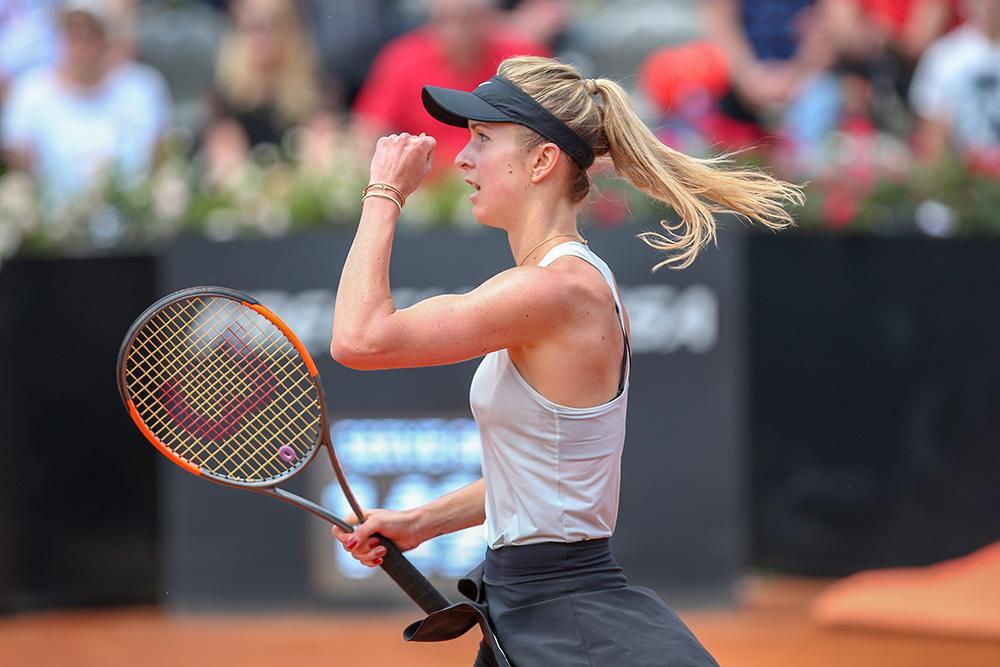 Свитолина дошла уже до полуфинала турнира в Риме / internazionalibnlditalia.com