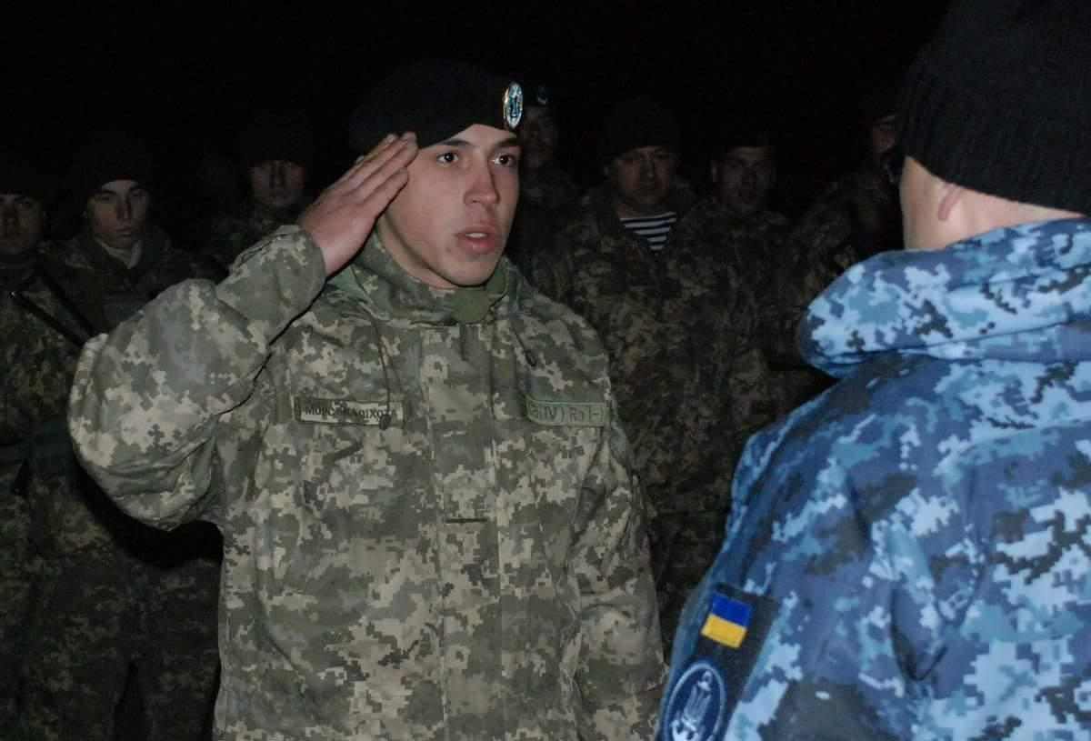 Он пошел защищать Украину в июле 2016 года / фото zt-rada.gov.ua