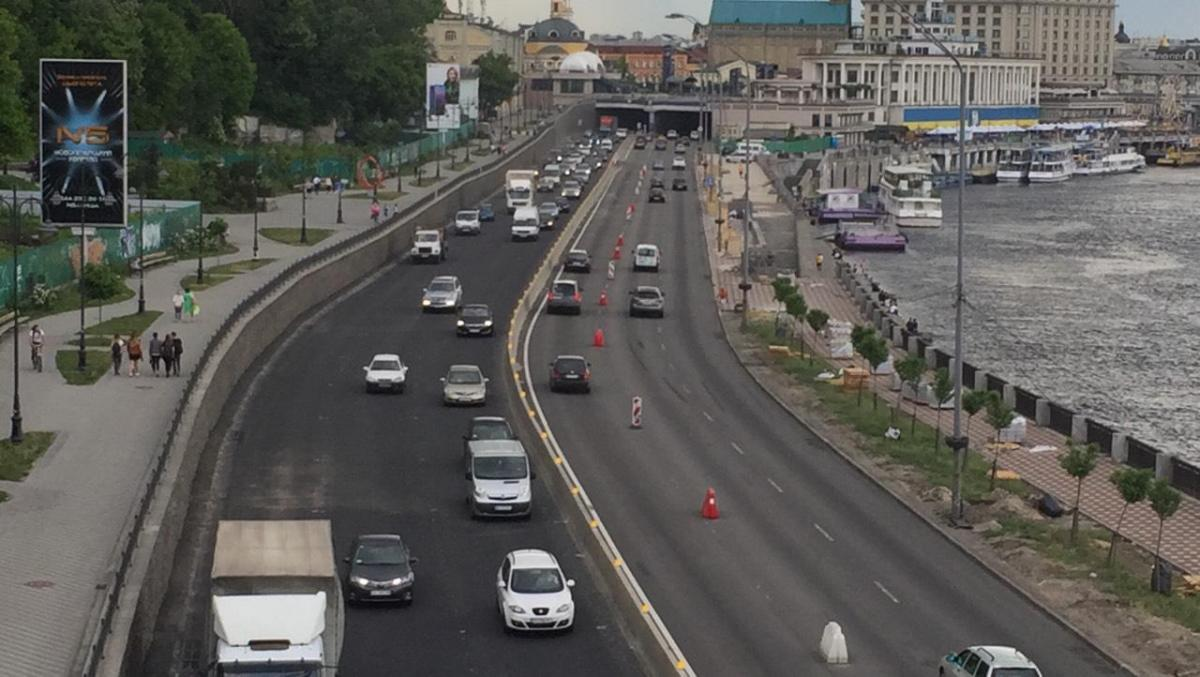 Движение в центре Киева будет ограничено \ фото «Киевавтодор»