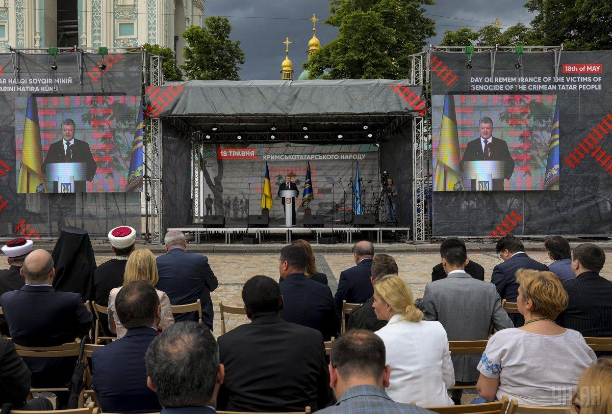 Порошенко ожидает окончательное одобрение рабочей группой изменений к Основному закону относительно Крыма / фото УНИАН