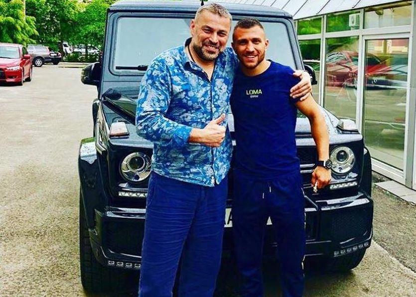Ломаченко приобрел новый автомобиль / facebook.com/luckypunch.net
