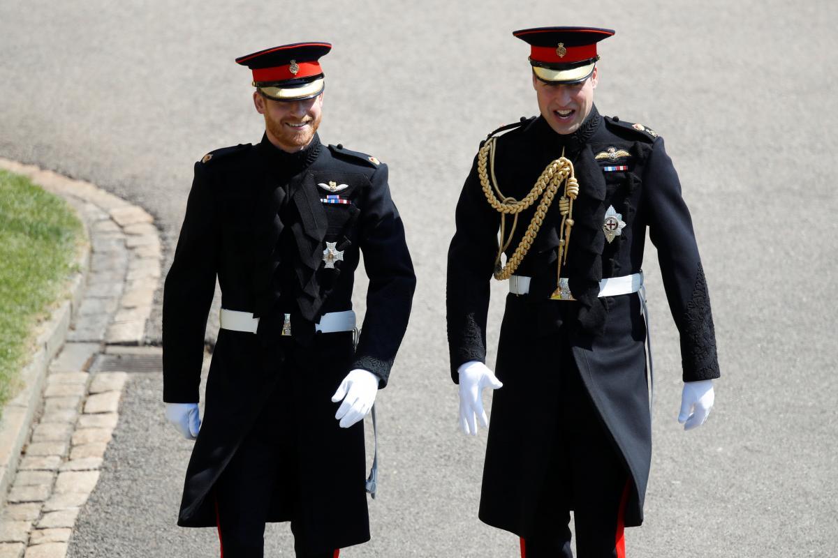 Принци Вільям і Гаррі / фото REUTERS
