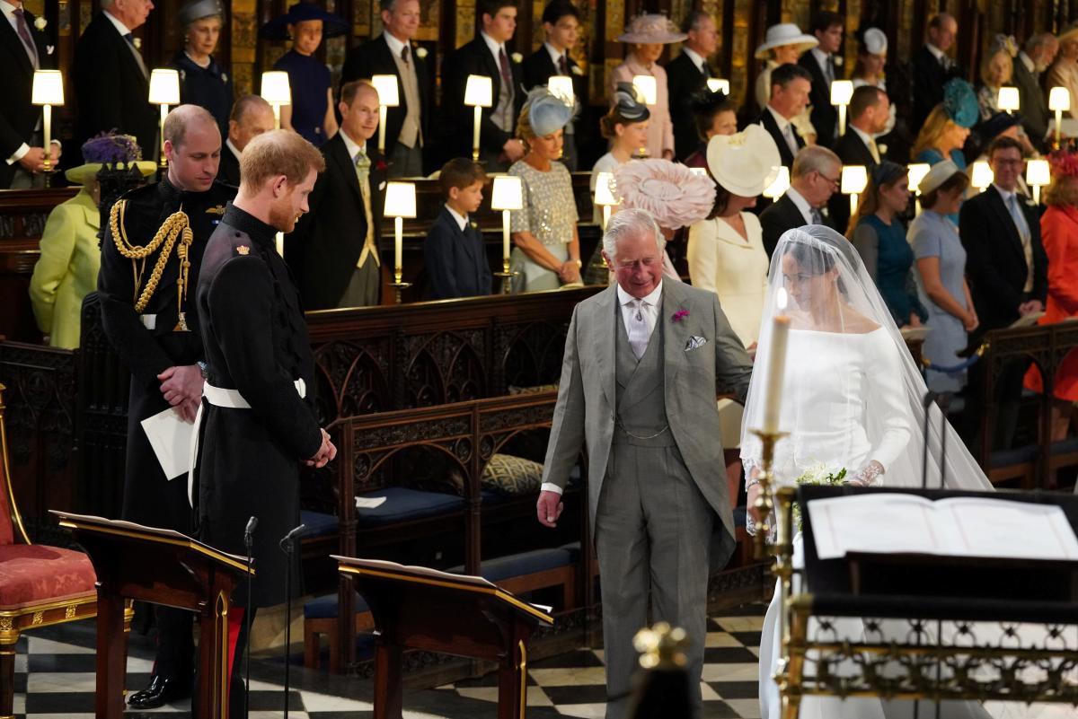 Принц Чарльз и Меган Маркл / фото REUTERS
