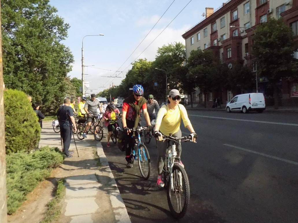 В этом году велопаломникам предстоит преодолеть более 150 километров / hramzp.ua