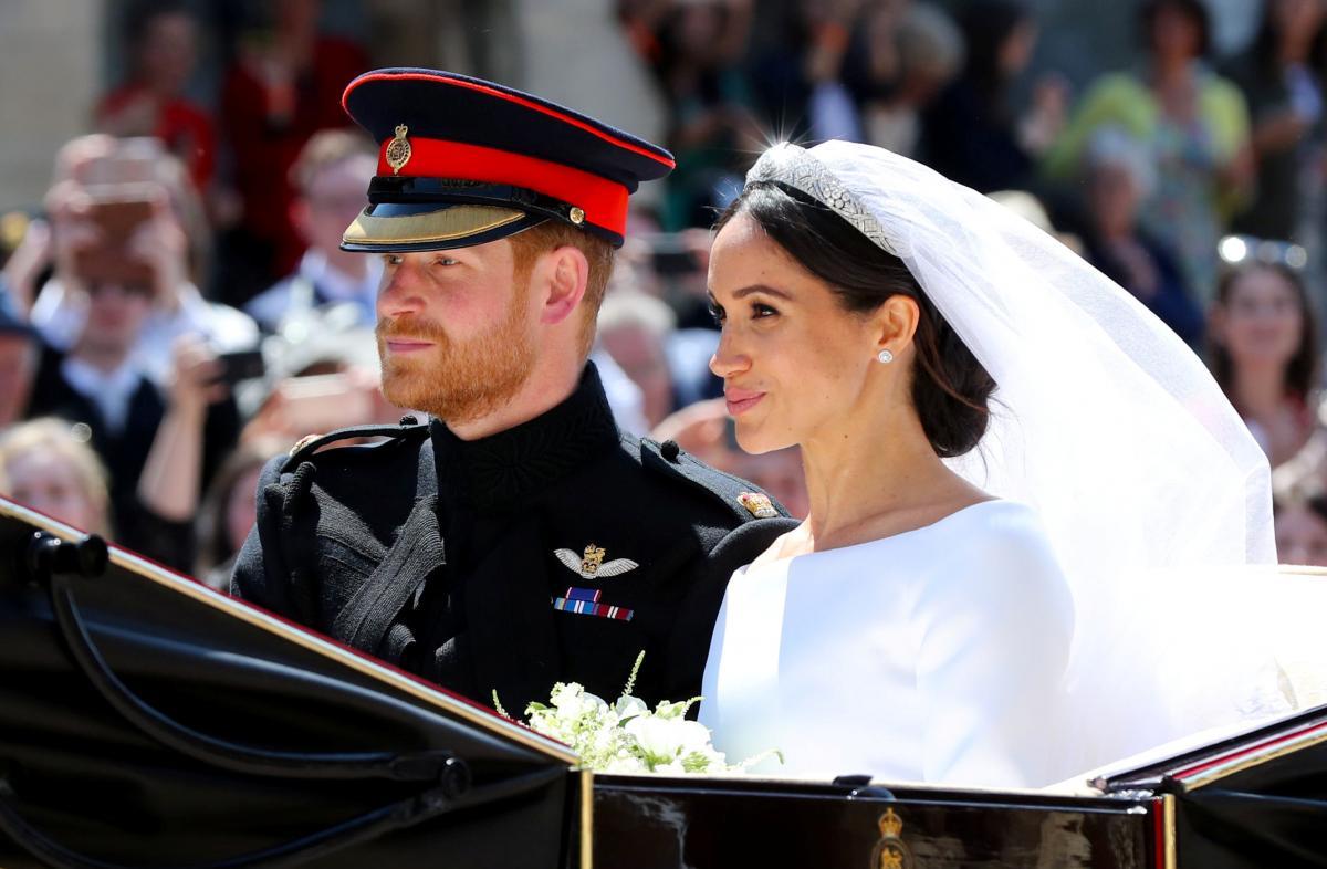 Королевская свадьба принца Гарри Уэльского и Меган Маркл