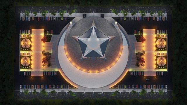Мечеть сможет одновременно вмещать более 8000 человек / newsturk.ru