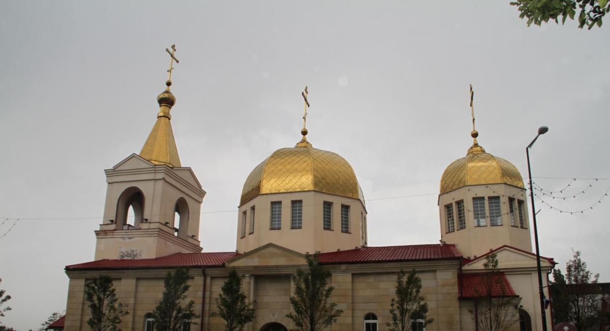 Нападавшие хотели захватить в церкви заложников / svoboda.org