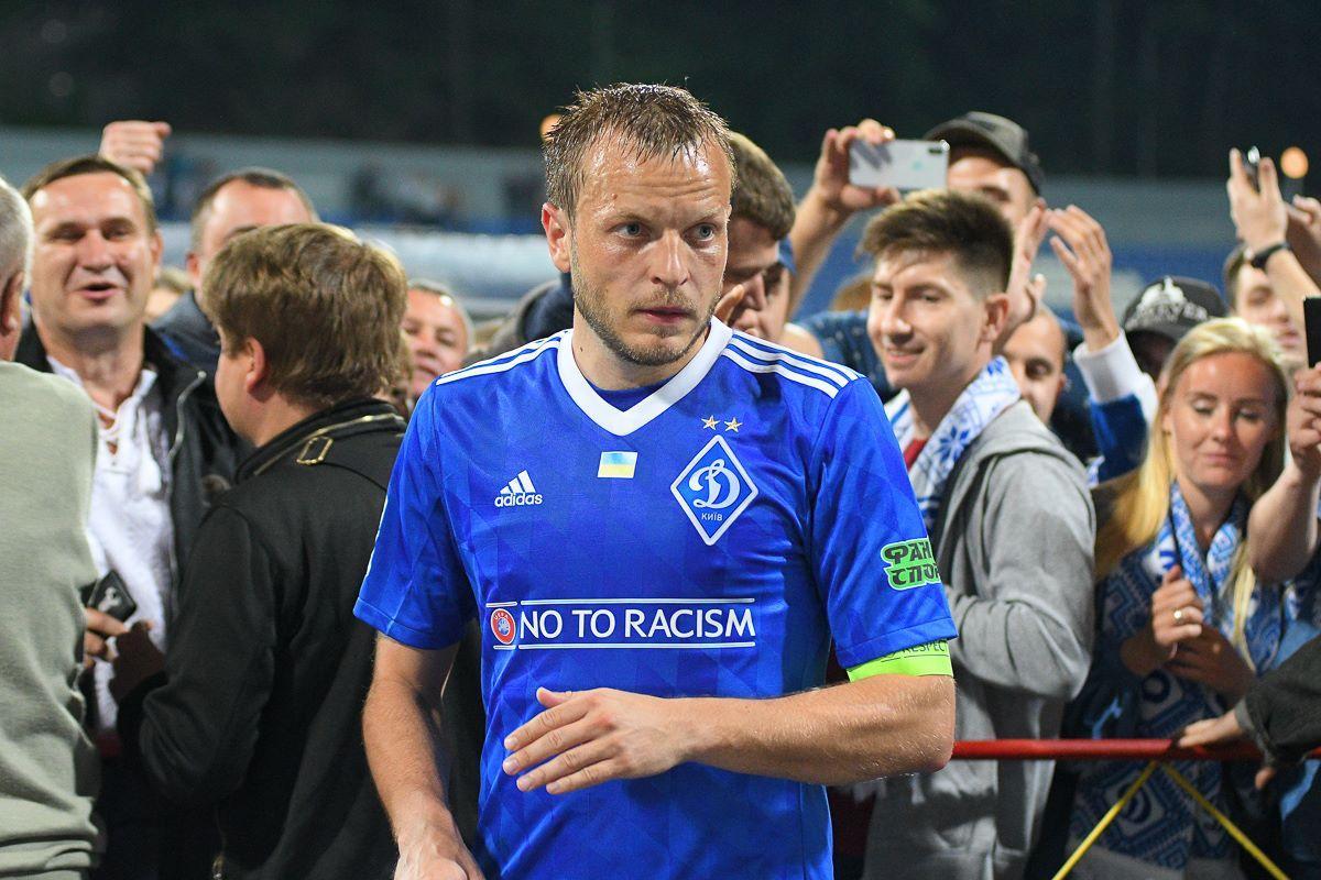 Олег Гусев выступал за Динамо с 2003 по 2018 годы / фото Динамо Киев