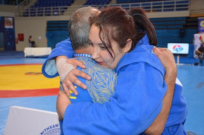 Анастасія Сапсай - дворазова чемпіонка Європи / sambo.net.ua