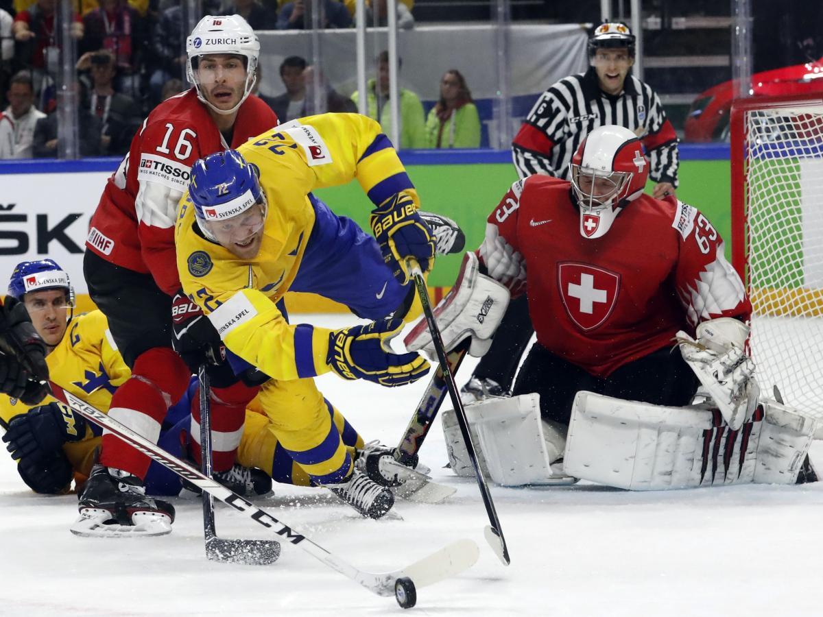 Швеція - Швейцарія - 3:2 / REUTERS