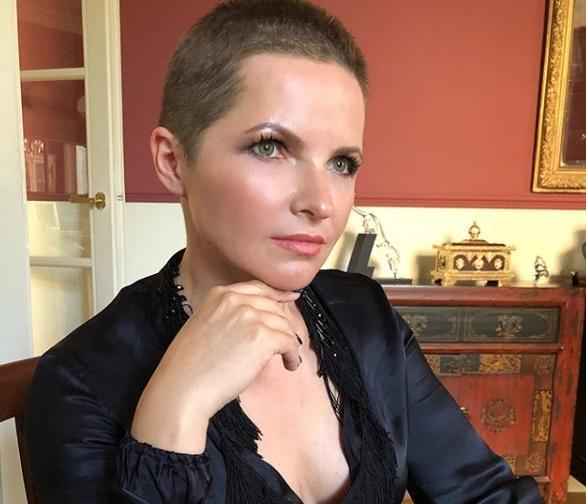 Бывшая жена Дмитрия Пескова постриглась почти налысо / фото instagram.com/zazerkatye