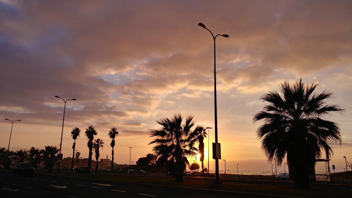Вечерний Тель-Авив / Фото Андрей Семко