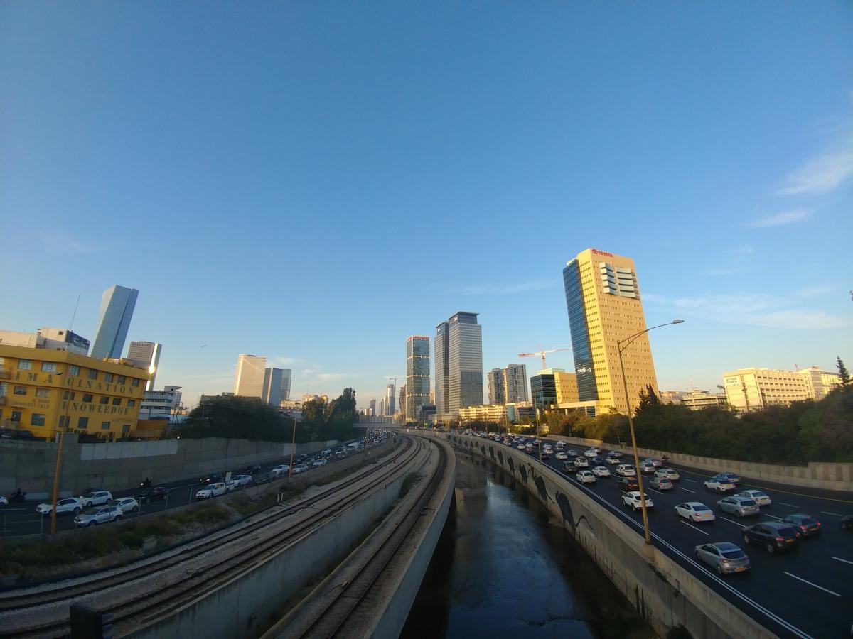 В шаббат большинство транспорта в Тель-Авиве не работает / Фото Андрей Семко