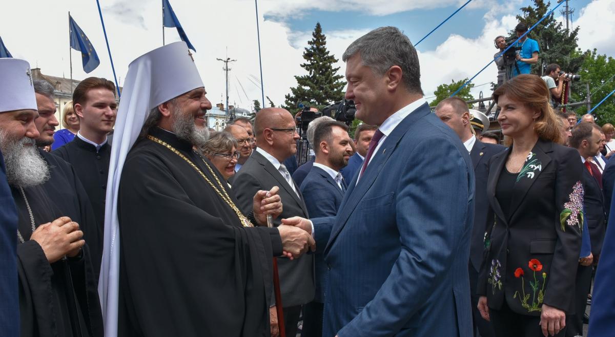 В Виннице архиереи УПЦ приняли участие в праздновании Дня Европы / news.church.ua