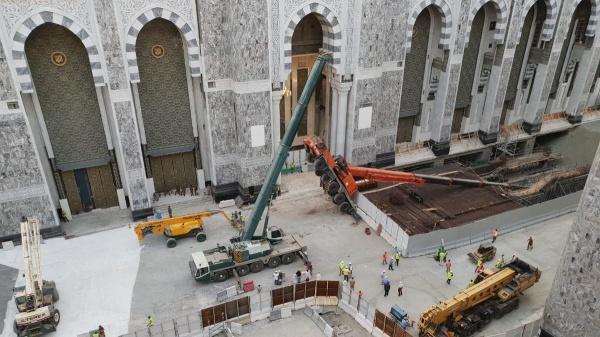 В Заповедной мечети в Мекке рухнул строительный кран / islam-today.ru