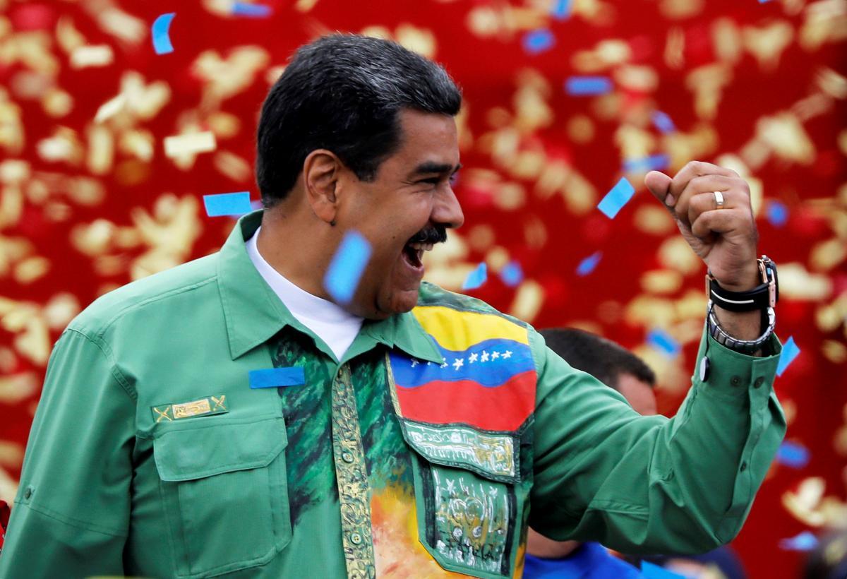 Николас Мадуро победил на президентских выборах в Венесуэле /REUTERS