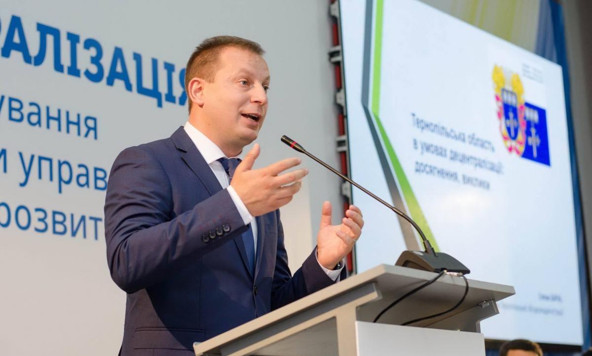 Голова Тернопільської ОДА Степан Барна розраховує на втілення ідеї щодо перенесення поляками свого бізнесу в Україну на взаємовигідних умовах / фото: doba.te.ua