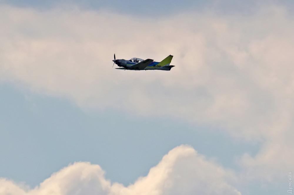 Одеський авіазавод продовжує випробовувати новий літак / фото Думська