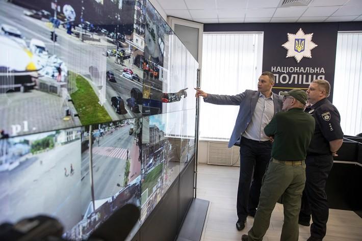 Кличко перевірив роботу Ситуаційного центру Нацполіції у Києві