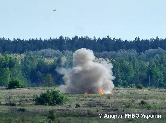 Випробування пройшли успішно / фото rnbo.gov.ua