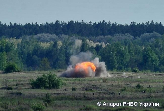 """22 мая в Украине провели испытания """"Джавелинов"""" / фото rnbo.gov.ua"""