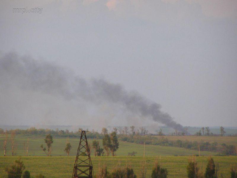 На поле вспыхнул пожар / фото mrpl.city