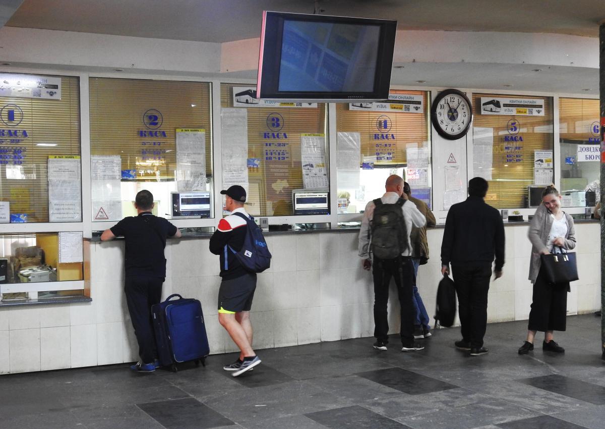 Главный автовокзал украинской столицы удручает / фото УНИАН