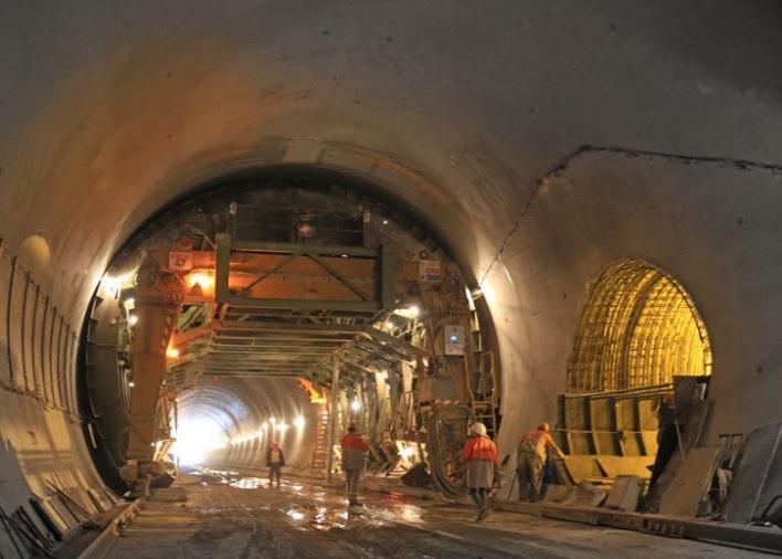 В Украине запускается Бескидский тоннель /Фото: interbudmontazh.com