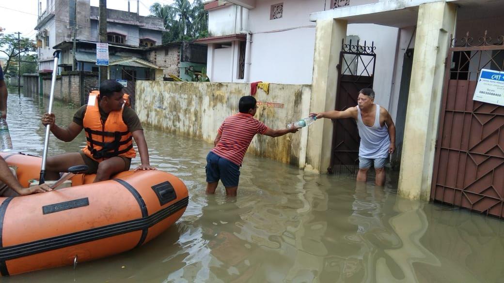 Індія потерпає від повені / twitter.com/Tripura_Police