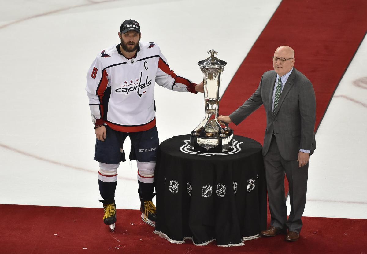 """""""Вашингтон"""" Олександра Овечкіна став переможцем Східної конференції НХЛ / REUTERS"""