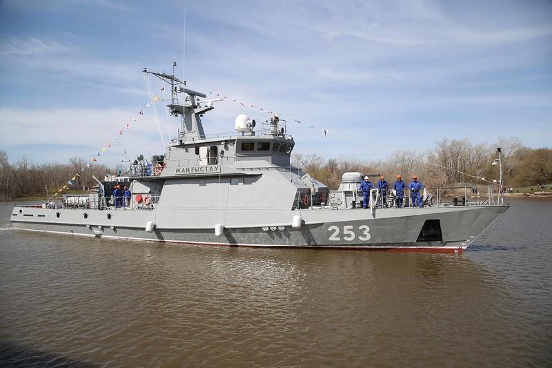 """Україна може модернізувати казахстанські кораблі типу """"Барс"""" / фото mod.gov.kz"""