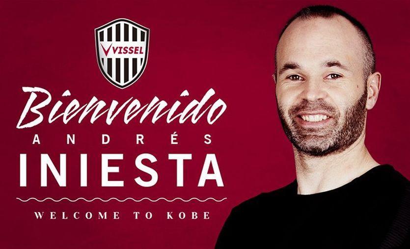 Иньеста подписал контракт с японским клубом / twitter.com/vissel_kobe