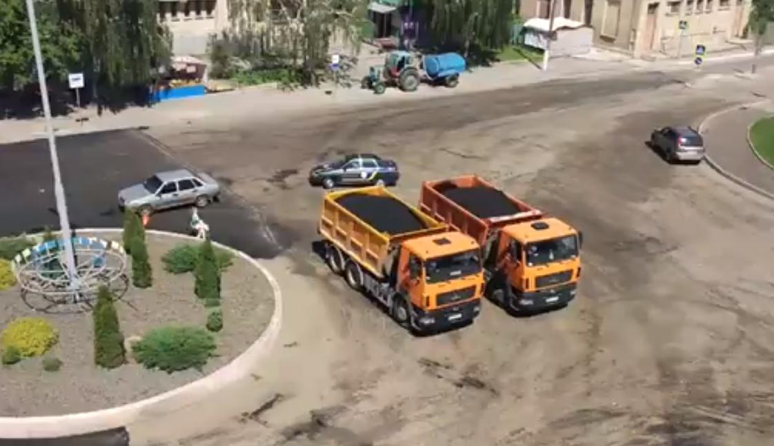 Полицейские пытались остановить машину / скриншот