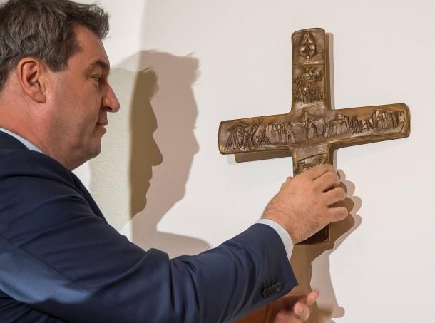 На зданиях баварского государственного управления будут установлены кресты / faz.net