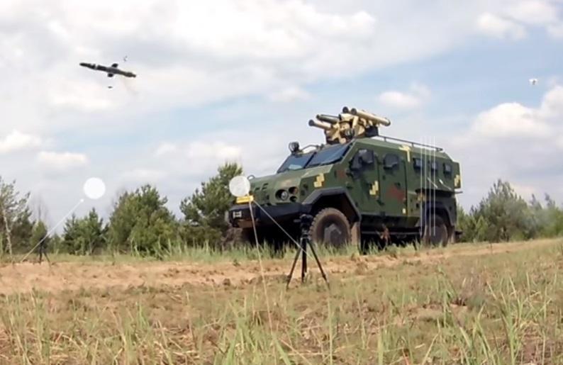 З'явилося відео випробувань бойового модуля / Скріншот