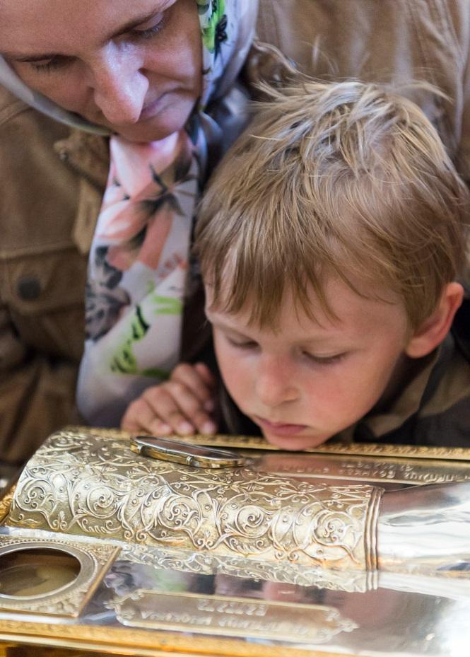 В Минске 16 тыс человек поклонились мощам преподобномученицы великой княгини Елисаветы / church.by