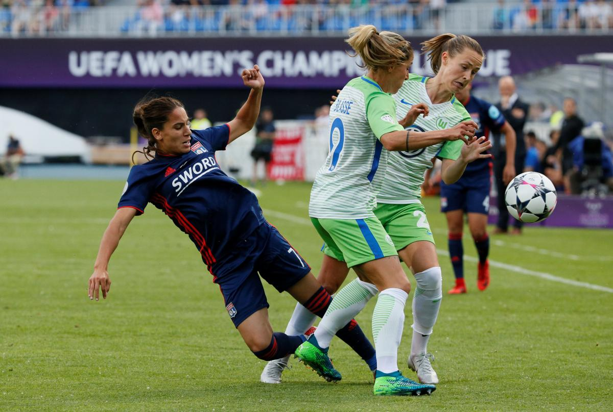 Лион и Вольфсбург определили сильнейшую женскую команду в Киеве / Reuters